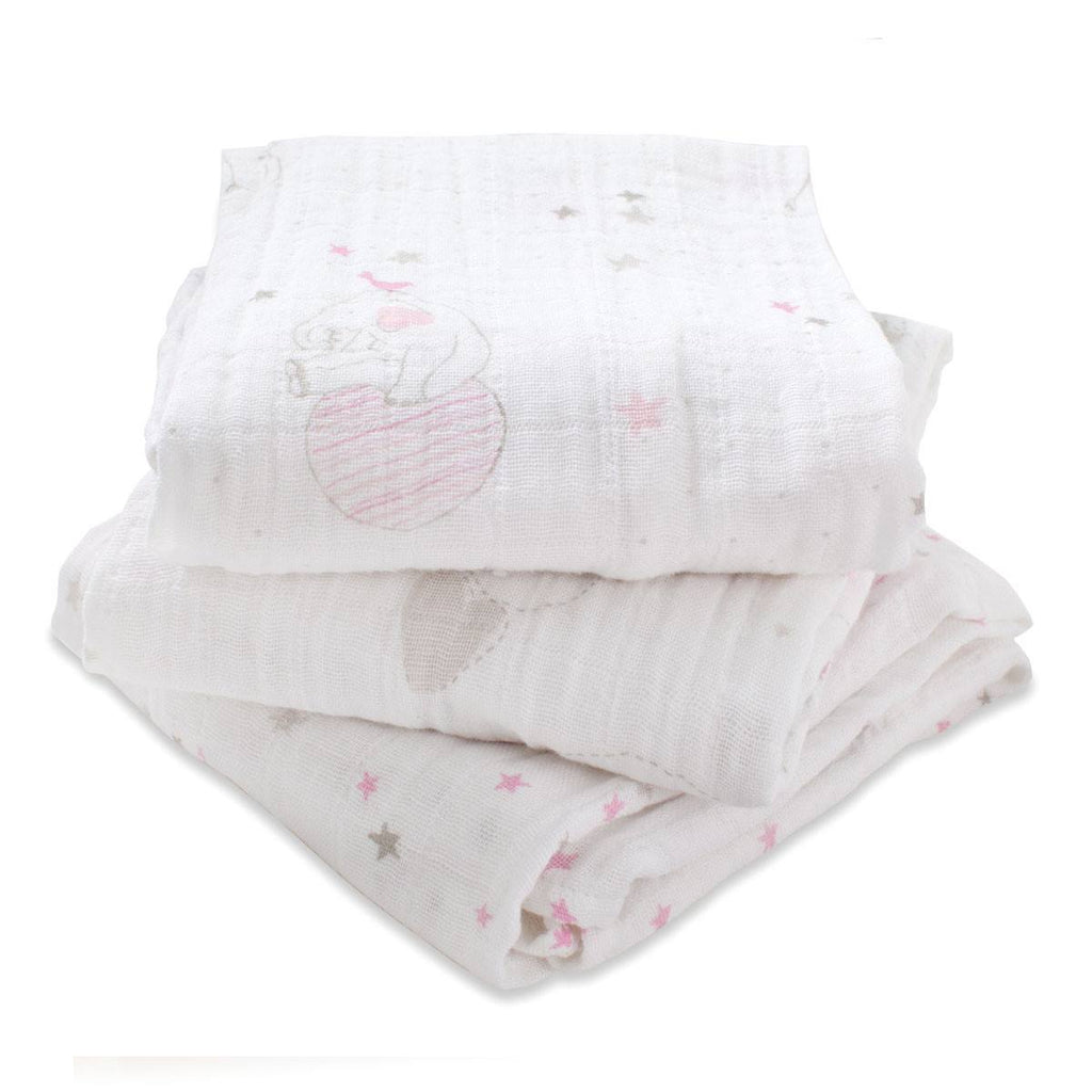 Muslin Squares - Aden & Anais Musy - Lovely - 3 Pack