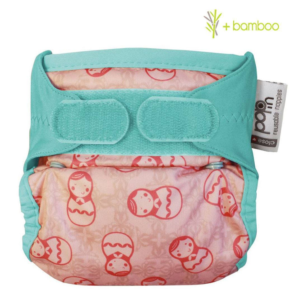 Nappies - Close Pop-in NewGen V2 Nappy - Bamboo - Russian Doll