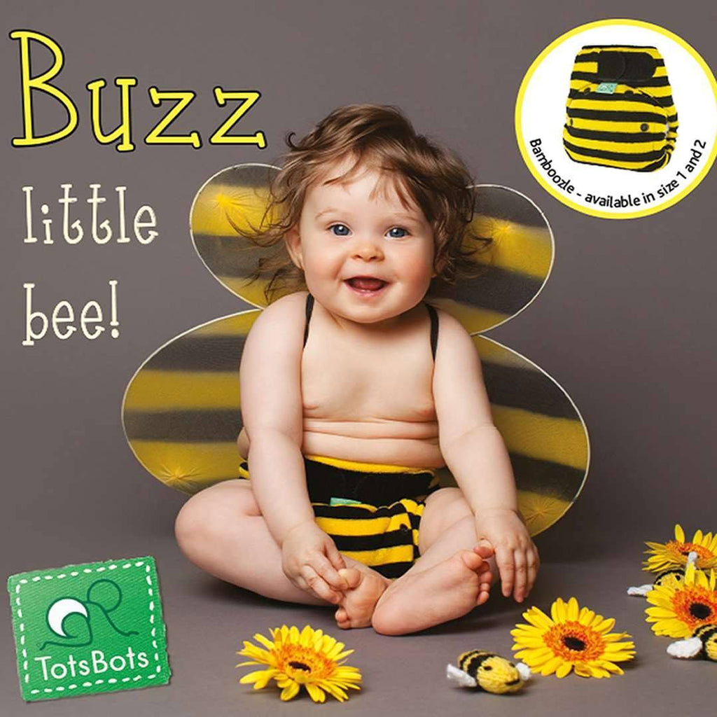 Nappies - TotsBots Bamboozle Stretch - Buzz