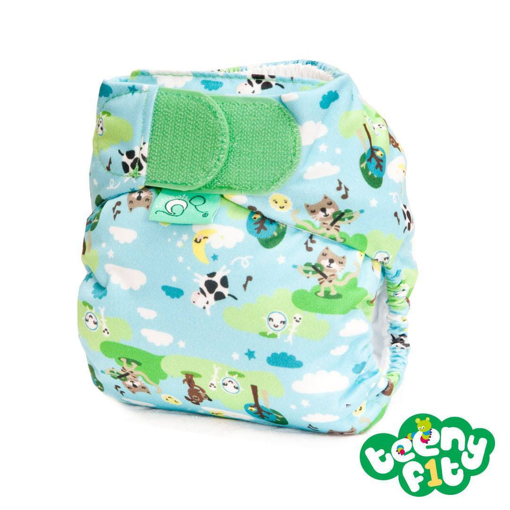 Nappies - TotsBots TeenyFit Binky - Hey Diddle