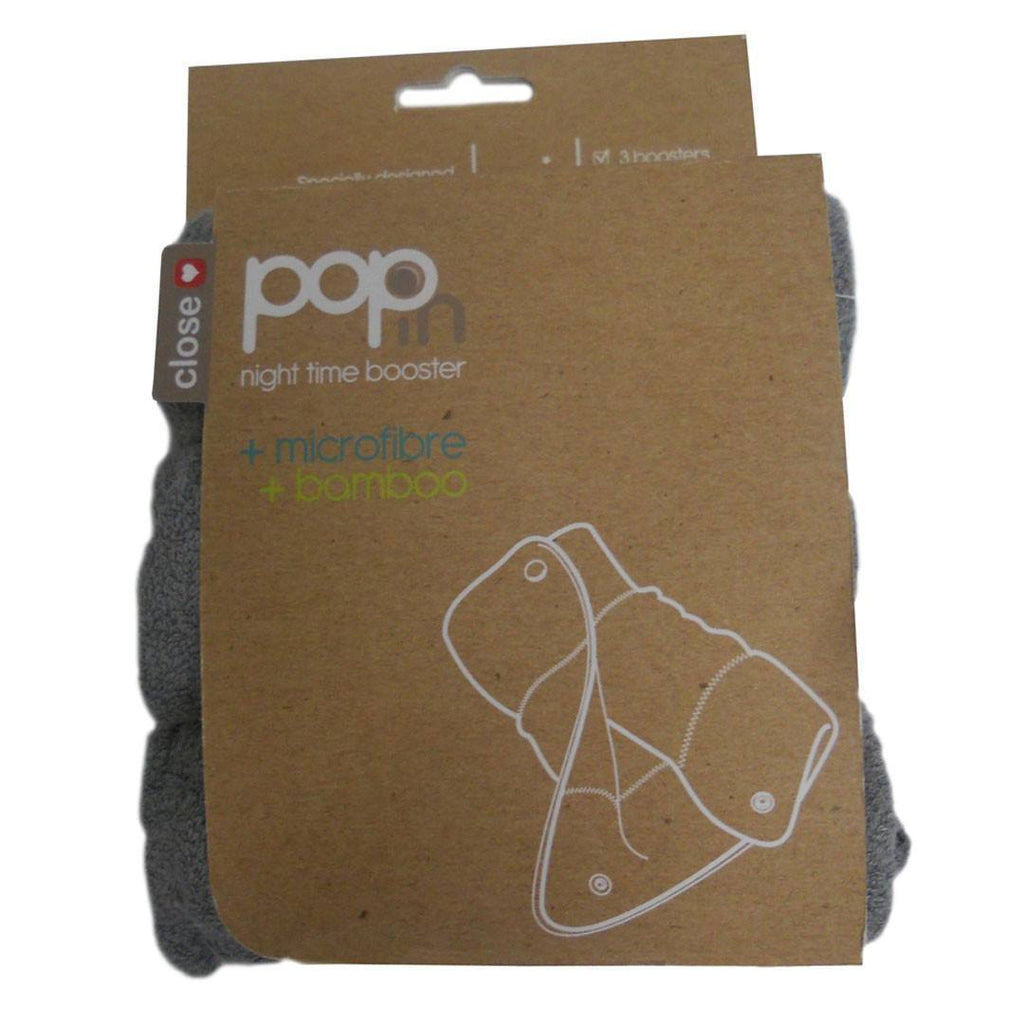 Close Pop-in Nighttime Booster - 3 Pack-Nappy Pads & Liners-Default- Natural Baby Shower
