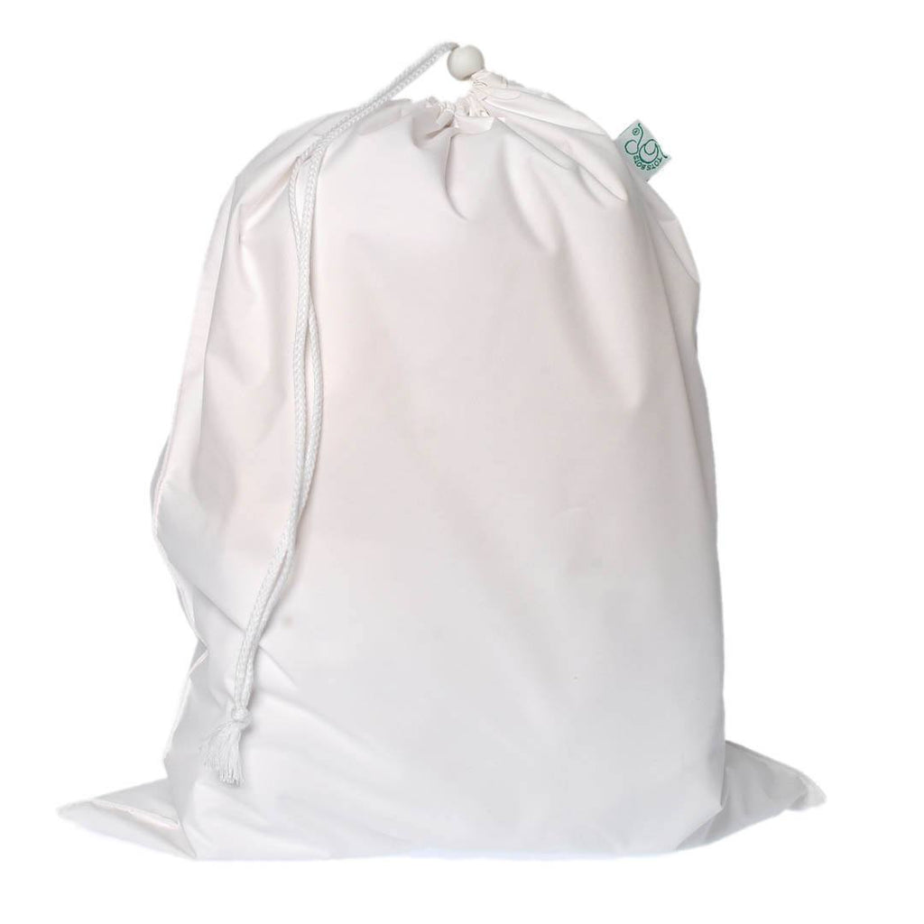 Nappy Accessories - TotsBots Waterproof Nappy Bag - White