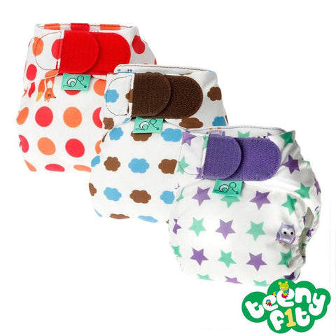 Nappy Packs - TotsBots TeenyFit Binky - Elements - 3 Pack