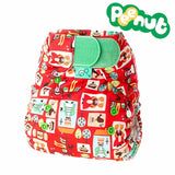 TotsBots PeeNut Wrap - Sixpence - Nappy Wraps - Natural Baby Shower
