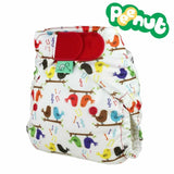 TotsBots PeeNut Wrap - Tweet - Nappy Wraps - Natural Baby Shower