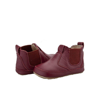 Old Soles Bambini Local Boots - Burgundy-Boots- Natural Baby Shower