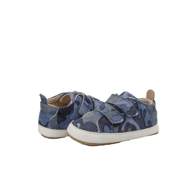 Old Soles Bambini Markert Shoes - Marine Camo/White-Shoes- Natural Baby Shower