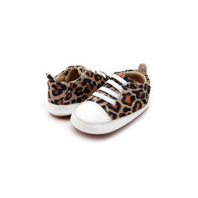 Old Soles Eazy Jogger Shoes - Kitten/Snow-Shoes- Natural Baby Shower