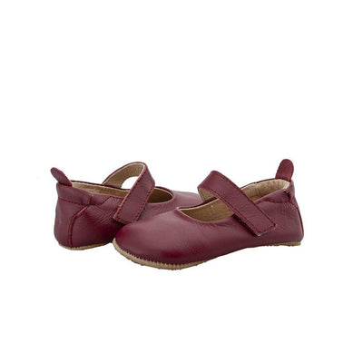 Old Soles Gabrielle Shoes - Burgundy-Shoes- Natural Baby Shower