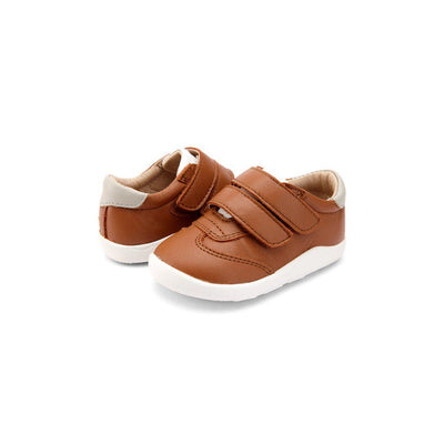 Old Soles Pathway Shoes - Tan/Snow/Gris-Shoes- Natural Baby Shower