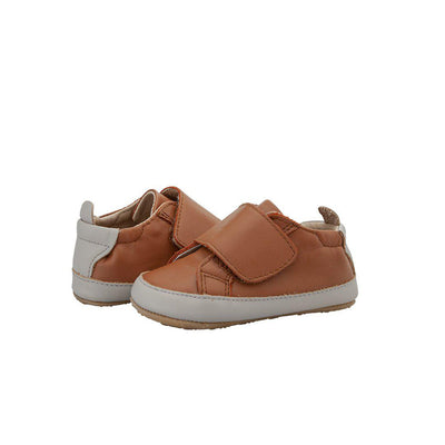 Old Soles Wendle Shoes - Tan/Gris-Shoes- Natural Baby Shower