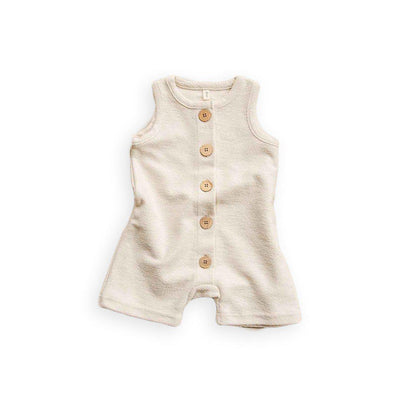 Organic Zoo Romper - Oat-Rompers- Natural Baby Shower