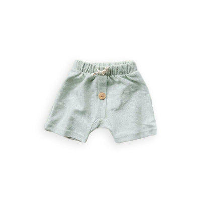 Organic Zoo Shorts - Mist-Shorts- Natural Baby Shower