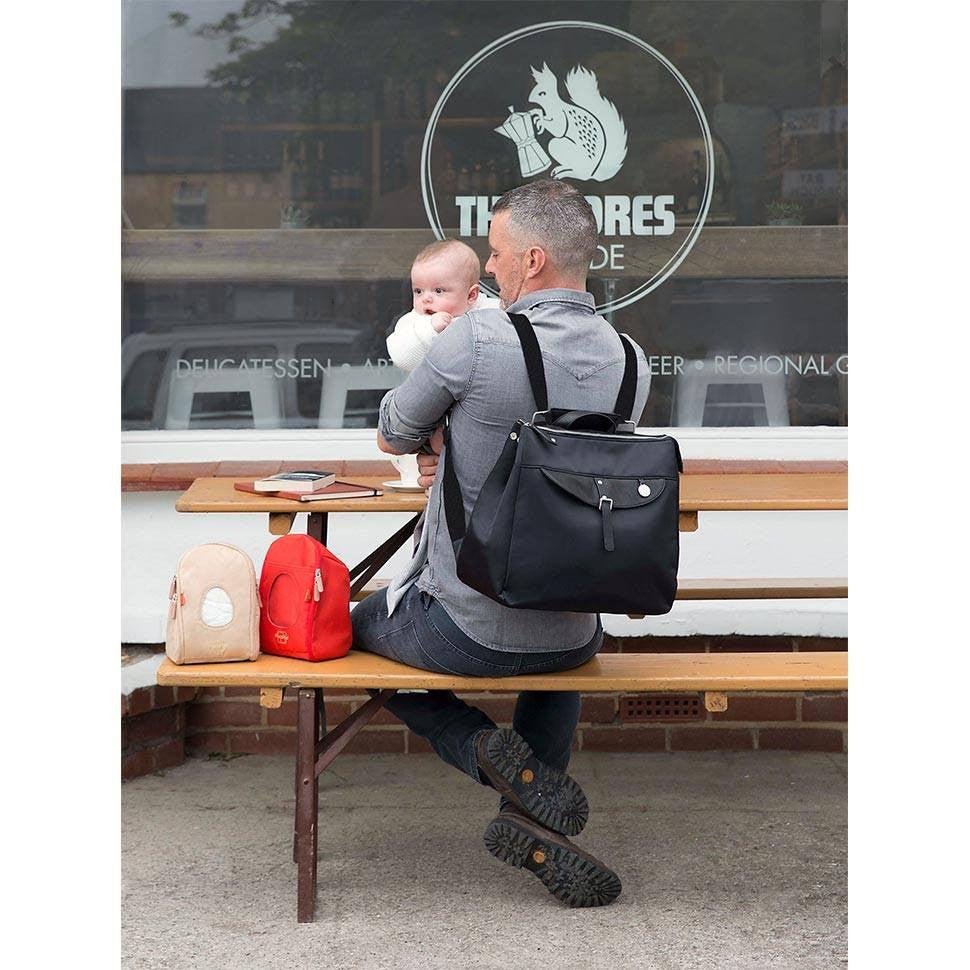 PacaPod Changing Bag - Gladstone - Black-Changing Bags- Natural Baby Shower