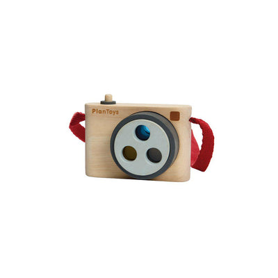 Plan Toys Colored Snap Camera-Play Sets- Natural Baby Shower