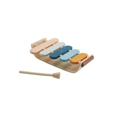 Plan Toys Oval Xylophone - Orchard Collection-Musical Instruments-Orchard Collection- Natural Baby Shower