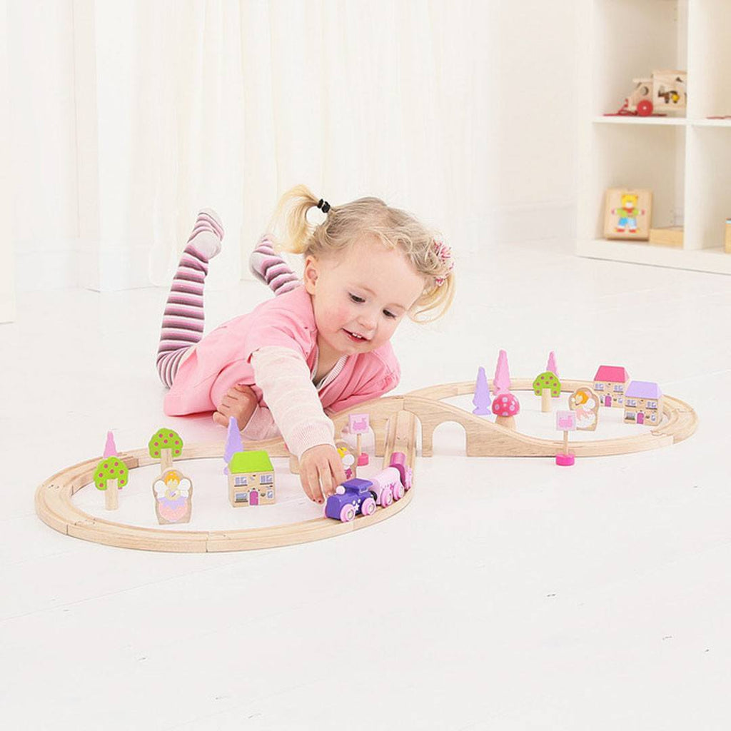 Play Sets - BigJigs Fairy Figure Of Eight Train Set