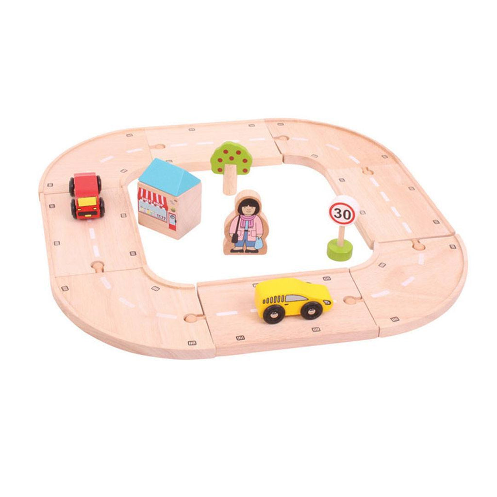 BigJigs My First Roadway-Play Sets-Default- Natural Baby Shower