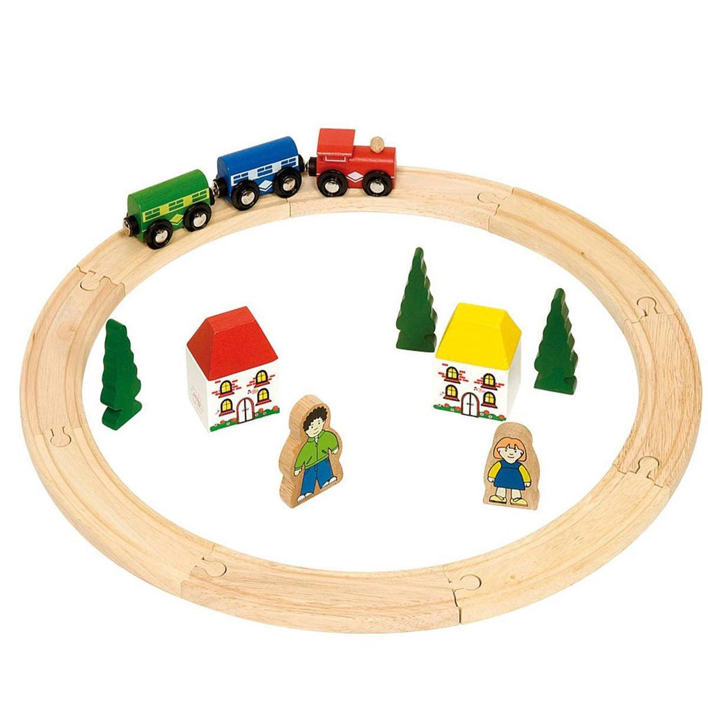 BigJigs My First Train Set - Play Sets - Natural Baby Shower