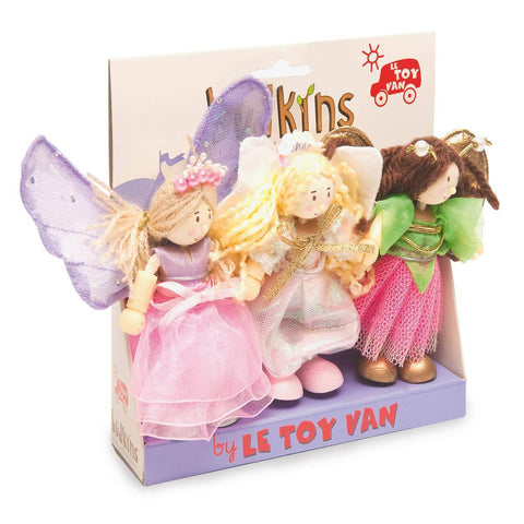 Le Toy Van - Budkins Gift Pack - Truth Fairies - Play Sets - Natural Baby Shower