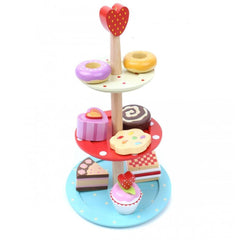 Play Sets - Le Toy Van - Honeybake Three Tier Cake Stand