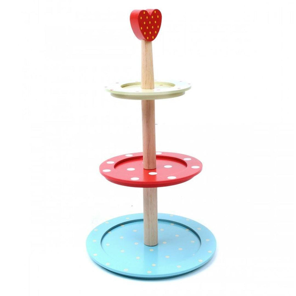 Le Toy Van - Honeybake Three Tier Cake Stand - Play Sets - Natural Baby Shower