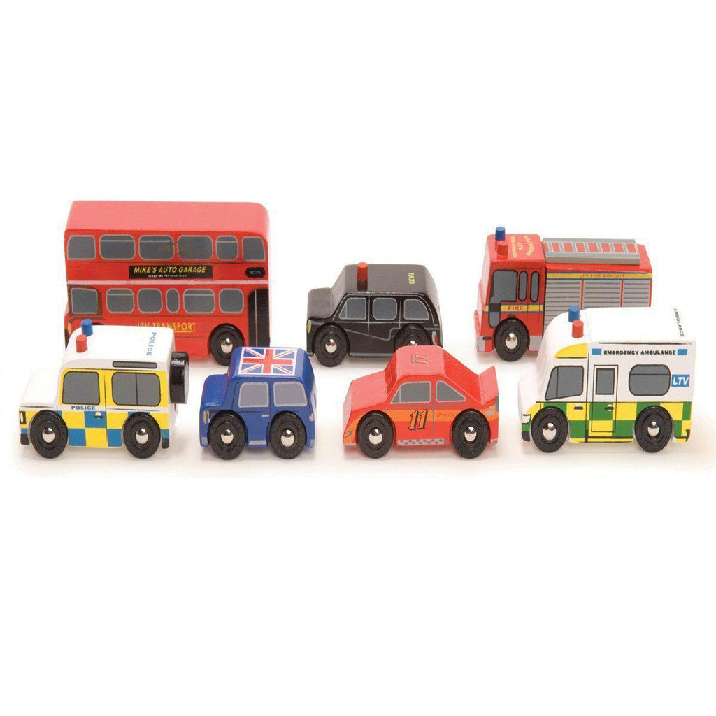 Le Toy Van - London Car Set-Play Sets-Default- Natural Baby Shower