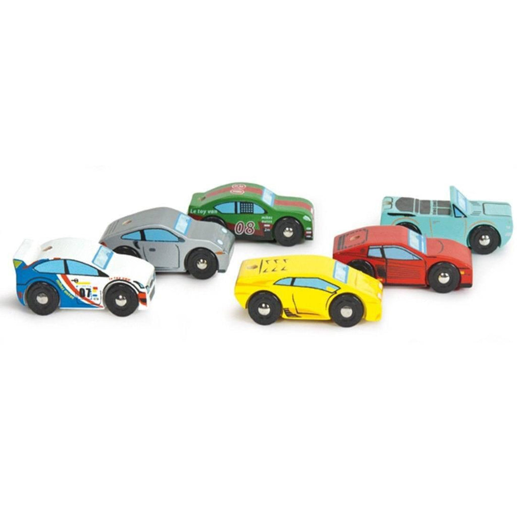 Le Toy Van - Monte Carlo Car Set - Play Sets - Natural Baby Shower