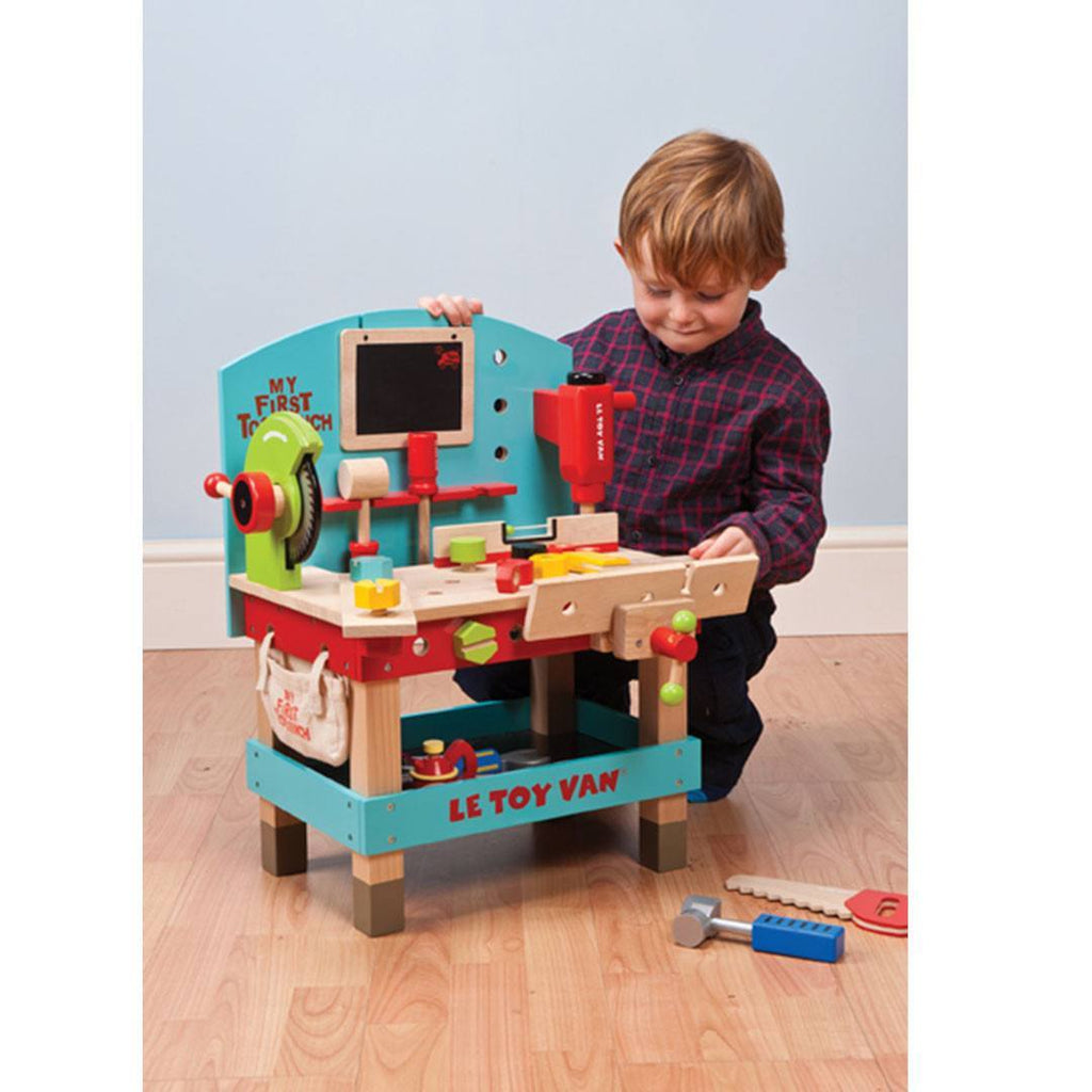 Le Toy Van - My First Tool Bench - Play Sets - Natural Baby Shower