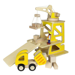 Play Sets - Masterkidz Construction Site Play Set