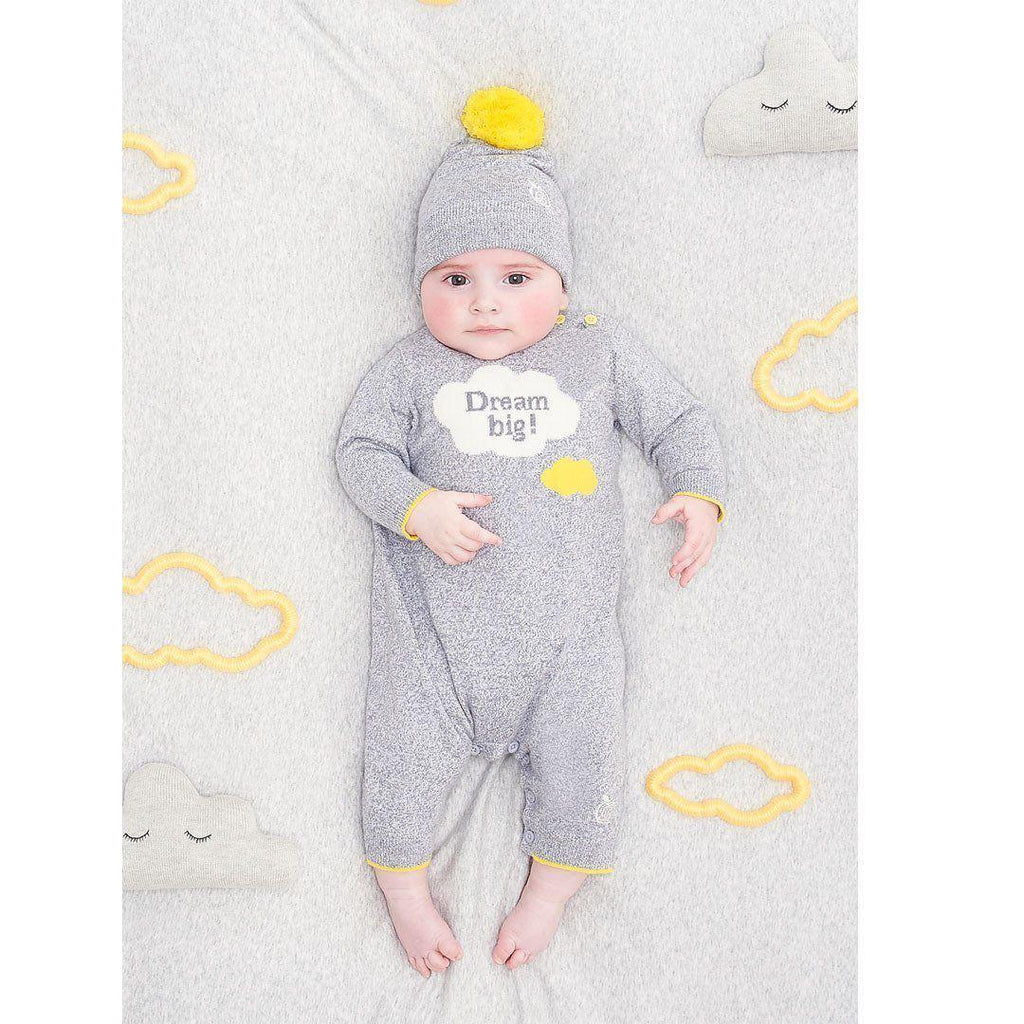 Playsuits & Rompers - Bonnie Baby Sunny Playsuit - Grey Chine