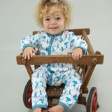 Playsuits & Rompers - Pigeon Organics Romper - Circus - Blue