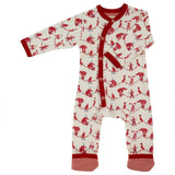 Playsuits & Rompers - Pigeon Organics Romper - Circus - Red