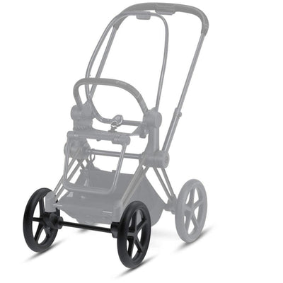 CYBEX Priam Front Wheel Set - Rough Terrain - Matte Black-Stroller Wheels- Natural Baby Shower