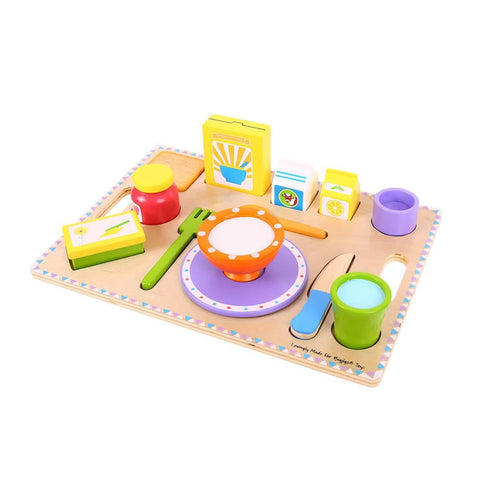 BigJigs Breakfast Tray - Puzzles - Natural Baby Shower