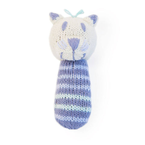 Finn + Emma Mini Rattle - Lola the Cat - Rattles - Natural Baby Shower