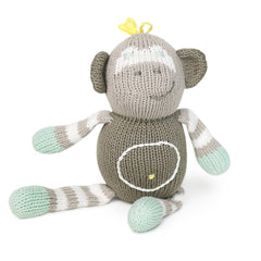 Rattles - Finn + Emma Rattle Buddy - Theo The Monkey