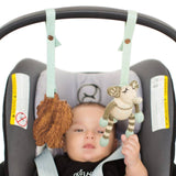 Finn + Emma 2pc Stroller Buddy Set - Kellan & Jojo-Baby Gyms- Natural Baby Shower