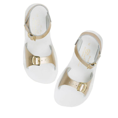 Salt-Water Sun-San Kids Sandals - Surfer - Gold-Sandals- Natural Baby Shower