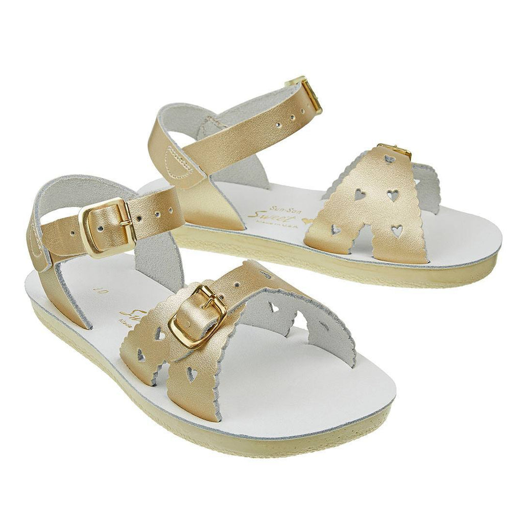 Sandals - Sun-San Saltwater Sandals - Sweetheart - Gold