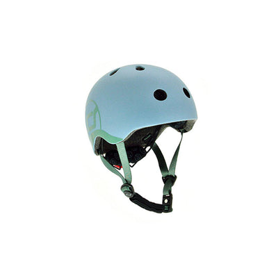 Scoot and Ride Helmet - Steel-Helmets-Steel-XXS-S- Natural Baby Shower