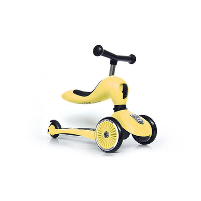 Scoot and Ride Highway Kick 1 - Lemon-Bikes & Scooters- Natural Baby Shower