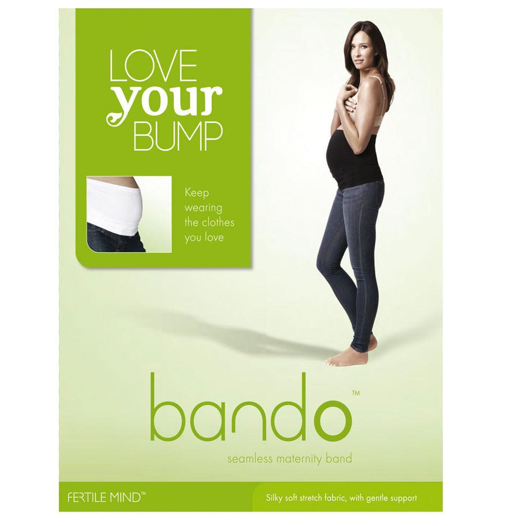 Shapewear - Fertile Mind Love Your Bump Bando - White