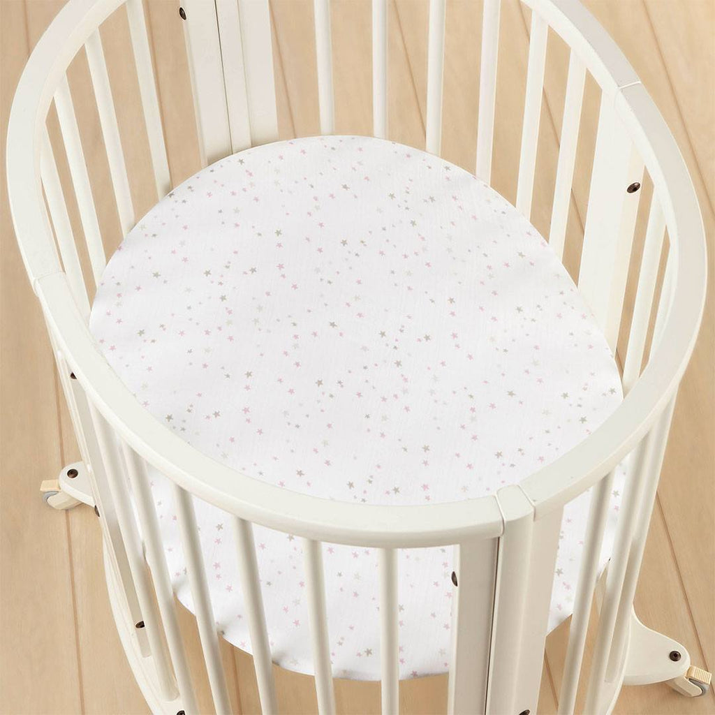 Sheets - Aden & Anais Stokke Mini Crib Sheet - Lovely