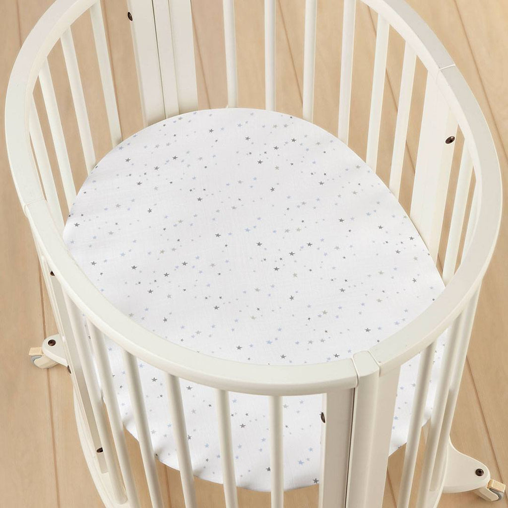 Sheets - Aden & Anais Stokke Mini Crib Sheet - Night Sky