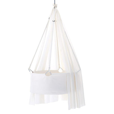 Leander Cradle Canopy-Cradles & Hammocks-White- Natural Baby Shower