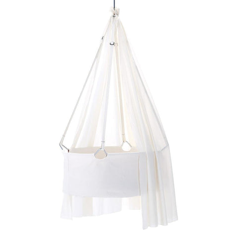 Sheets - Leander Cradle Canopy - White