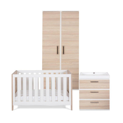 Silver Cross 3 Piece Furniture Set - Finchley-Nursery Sets- Natural Baby Shower
