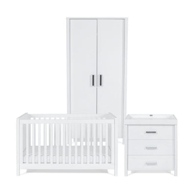 Silver Cross 3 Piece Furniture Set - Primrose Hill-Nursery Sets- Natural Baby Shower
