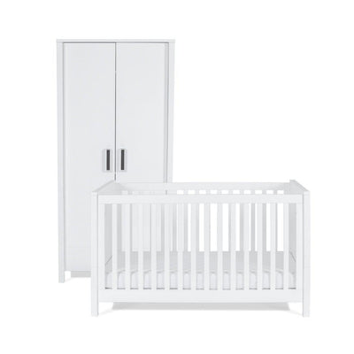 Silver Cross Cot Bed + Wardrobe - Primrose Hill-Nursery Sets- Natural Baby Shower